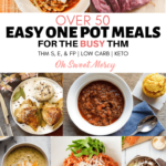 Easy One Pot Meals for the Busy THM - Over 50 Recipes!