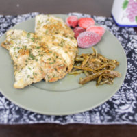 Sweet Herbed Chicken and Green Beans (THM:FP)