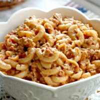 Saucy Hamburger Helper THM – S