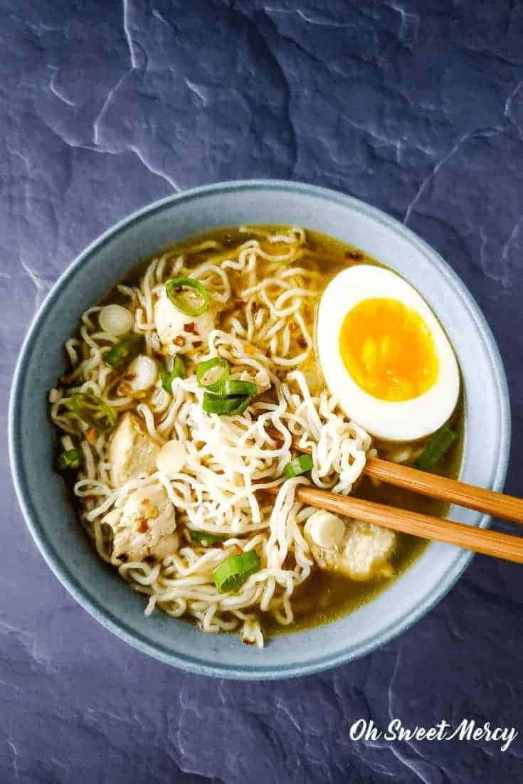 simple low carb ramen  thm s or fp low carb  oh sweet mercy