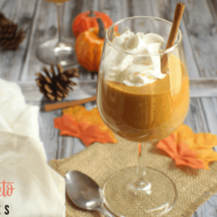 Keto Pumpkin Cream Mousse