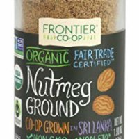 Frontier Ground Organic Fair Trade, Nutmeg, 1.9 Ounce