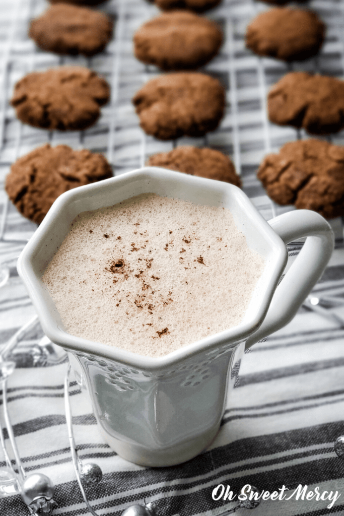 mug of gingerbread steamer