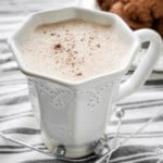 Dairy Free Gingersnap Steamer | THM FP or S, Sugar Free
