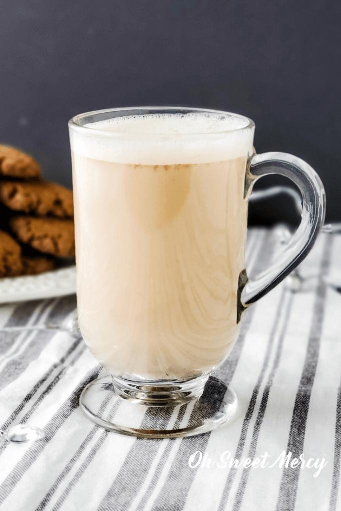 Mug of gingersnap steamer