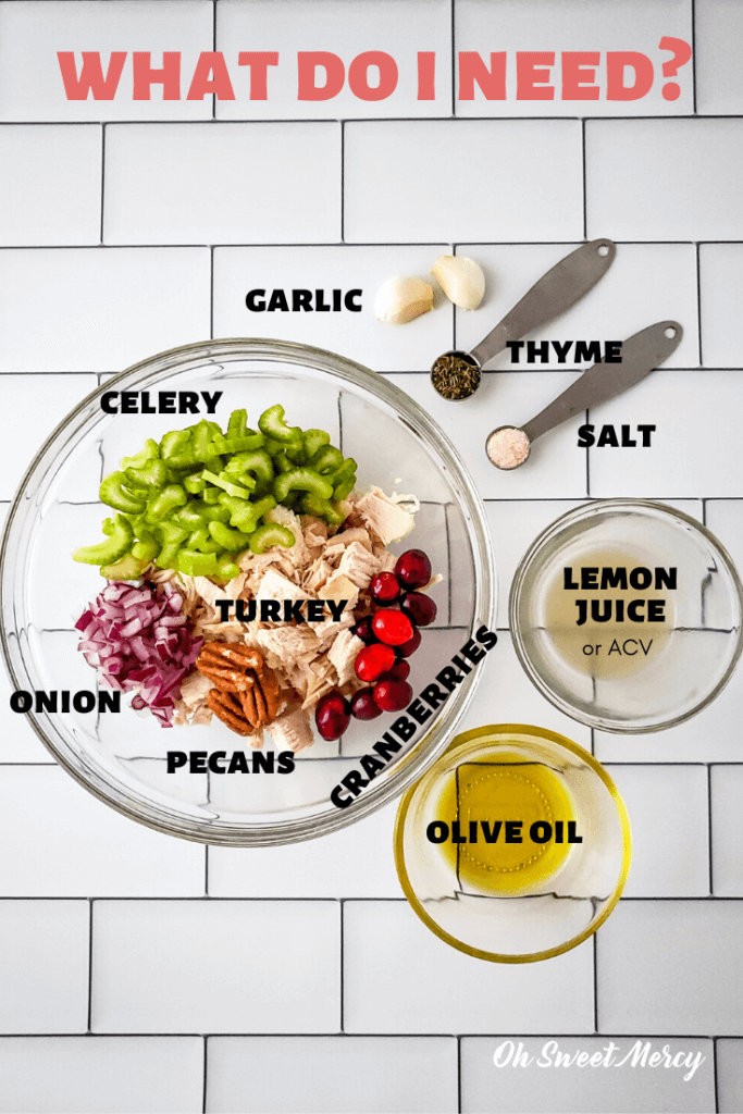 photo of recipe ingredients