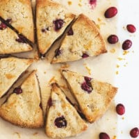 Cranberry Orange Scones + Easy Keto Cookbook Review
