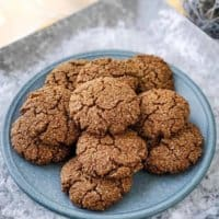 Ginger Molasses Cookies | THM S, Low Carb, Gluten Free