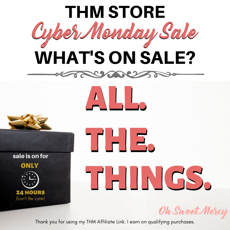 2019 THM Cyber Monday Sale Announcement