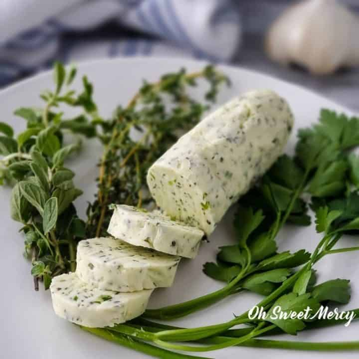 Easy Compound Butter (or Herbed Butter)