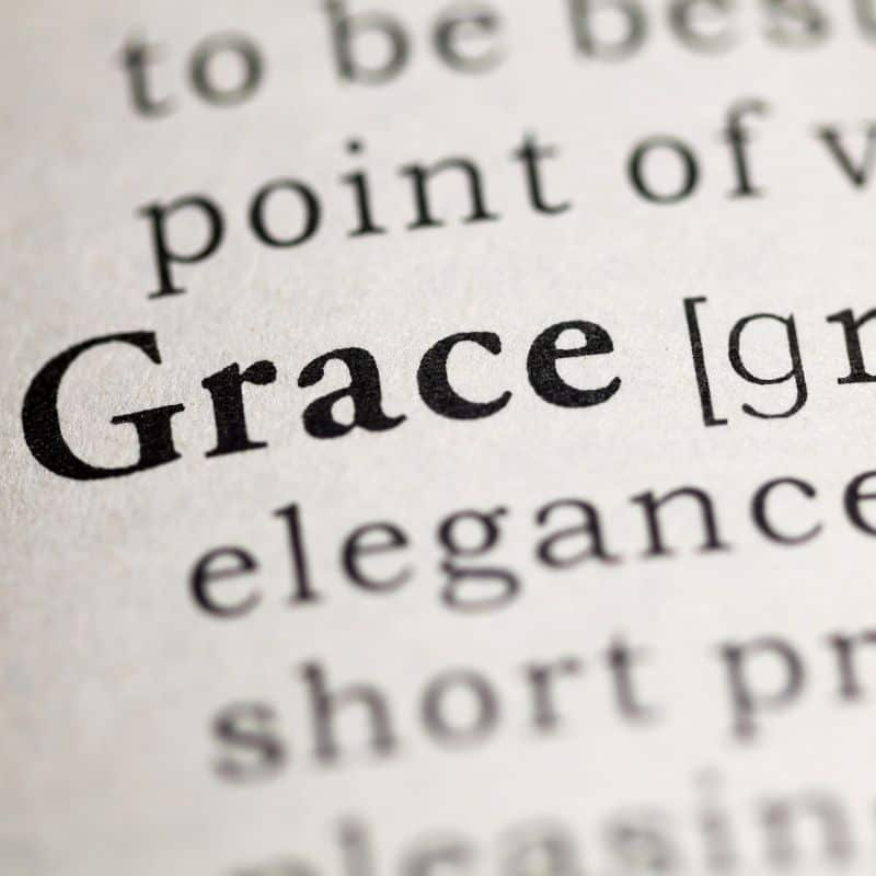 Grace dictionary entry