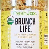 Brunch Life Everything Bagel Seasoning by Freshjax - Organic, Kosher, Vegan