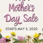 THM Mother's Day Sale! May 5, 2020