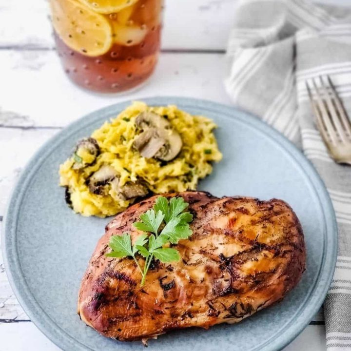 Sweet Tea Grilled Chicken   THM S or FP, Sugar Free, Low Carb