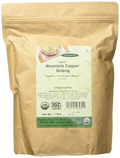 Davidson's Organics Mountain Copper Oolong Loose Leaf Tea