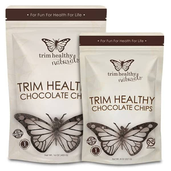 New packaging for Trim Healthy Chocolate Chips